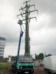 Wynajem Zwyżki 26 metrów Katowice
